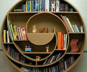 book, bookshelf, and shelf image