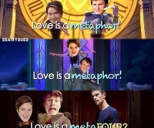 divergent, the fault in our stars, and tfios image