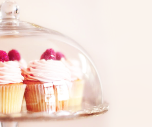 colorful, cupcake, and raspberry image
