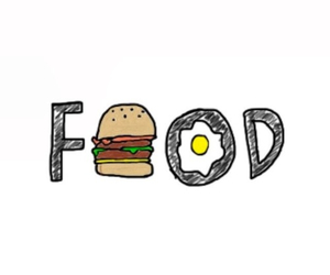 food, overlay, and egg image