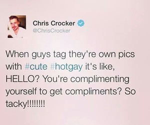 chris crocker, funny, and lol image