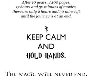 harry potter, keep calm, and magic image