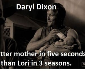 the walking dead, daryl, and little ass kicker image