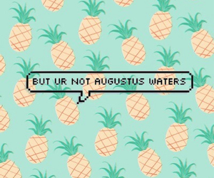 tfios, augustus waters, and the fault in our stars image