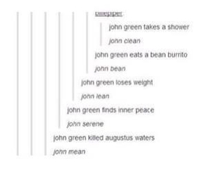 john green, tumblr, and the fault in our stars image