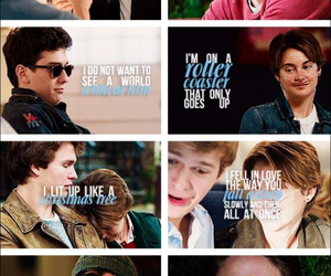 movie time and the fault in our stars image