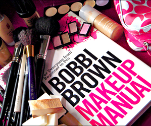 makeup, make up, and bobbi brown image