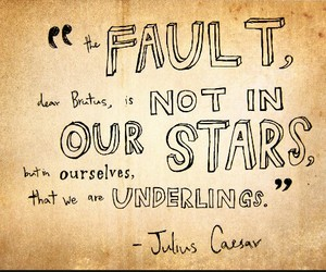 the fault in our stars, quote, and tfios image