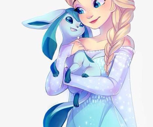 pokemon, elsa, and frozen image