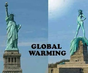 funny, global warming, and lol image