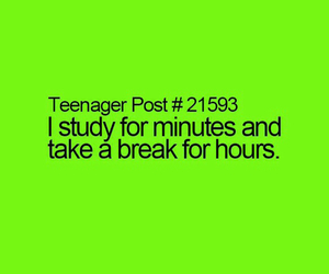 break, funny, and hours image