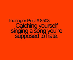 hate, sing, and song image