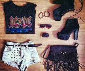 ACDC, rock, and outfit image
