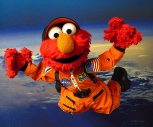 elmo, red, and sky image