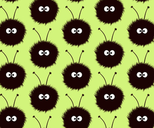 bug, pattern, and cute image