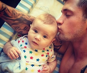 daddy, father, and kiss image