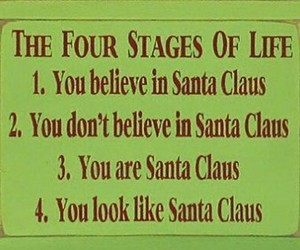 funny, christmas, and santa claus image