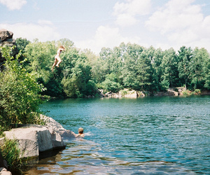 nature, lake, and summer image