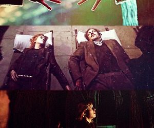 harry potter, tonks, and remus lupin image