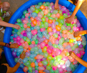 summer, balloons, and fun image
