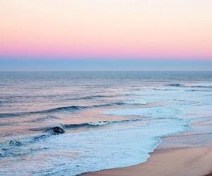 getaway, holiday, and sea image