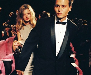 johnny depp, vintage, and kate moss image