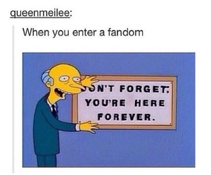 fandom, funny, and the simpsons image