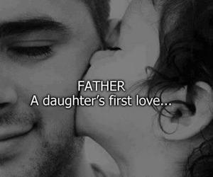 love, father, and daughter image