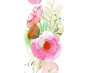flower, pink, and nice image