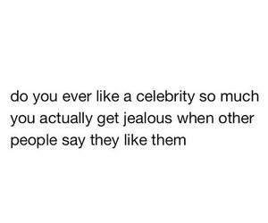 celebrity, jealous, and love image
