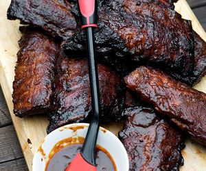 bbq, grill, and pork image