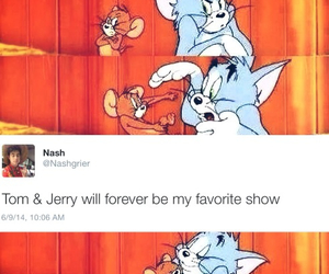 forever, tom and jerry, and tweet image