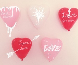 heart, balloons, and cute image