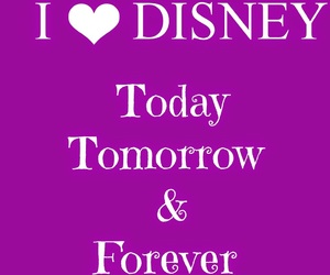 disney, forever, and heart image