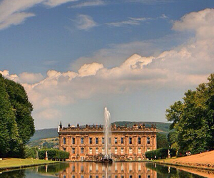 england, chatsworth house, and derbyshire image