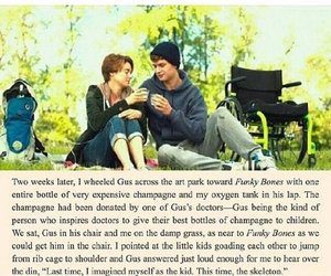 tfios, augustus waters, and Shailene Woodley image