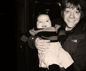 rupert grint, baby, and harry potter image