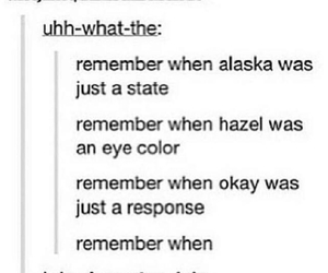 looking for alaska, tumblr, and the fault in our stars image