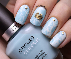 nails, design, and ocean image