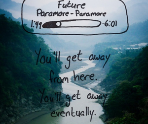 paramore, future, and quote image
