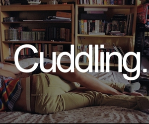 cuddling, couple, and boy image