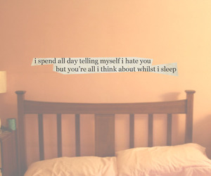 bed, pretty, and quote image