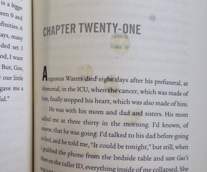 tfios, augustus, and Died image