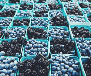 berries, blueberry, and fruit image