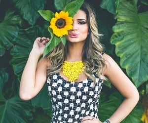 fashion, flower, and it girl image