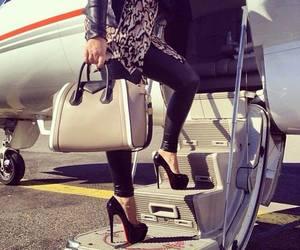 fashion, bag, and heels image