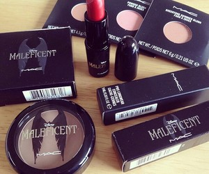 mac, makeup, and maleficent image