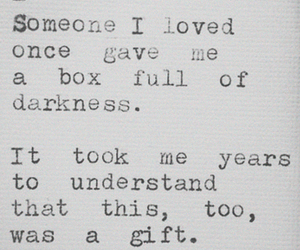 box, Darkness, and gift image