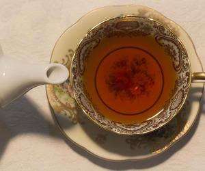 tea, drink, and vintage image
