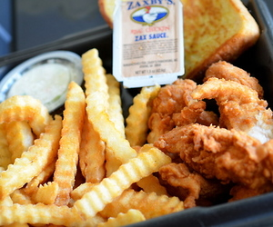 Chicken, food, and chips image